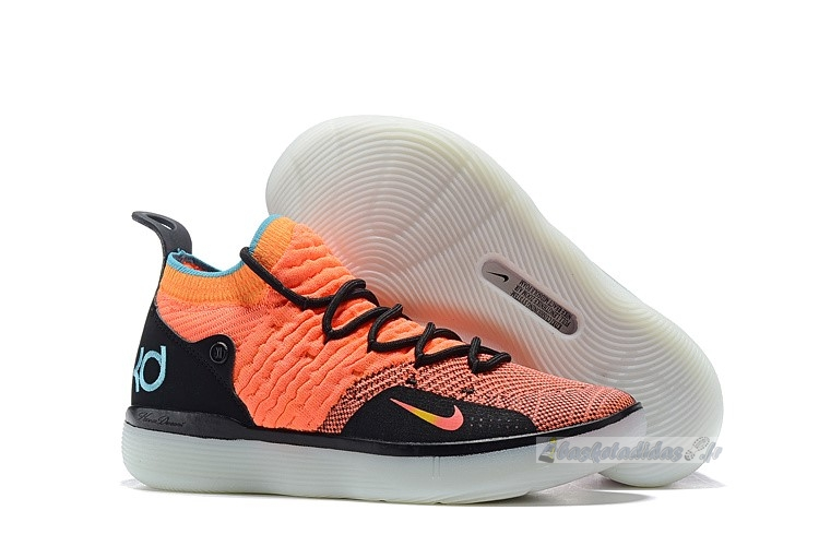 "Chaussure de Basket Nike Kd Xi 11 ""The Academy"" Orange Noir"