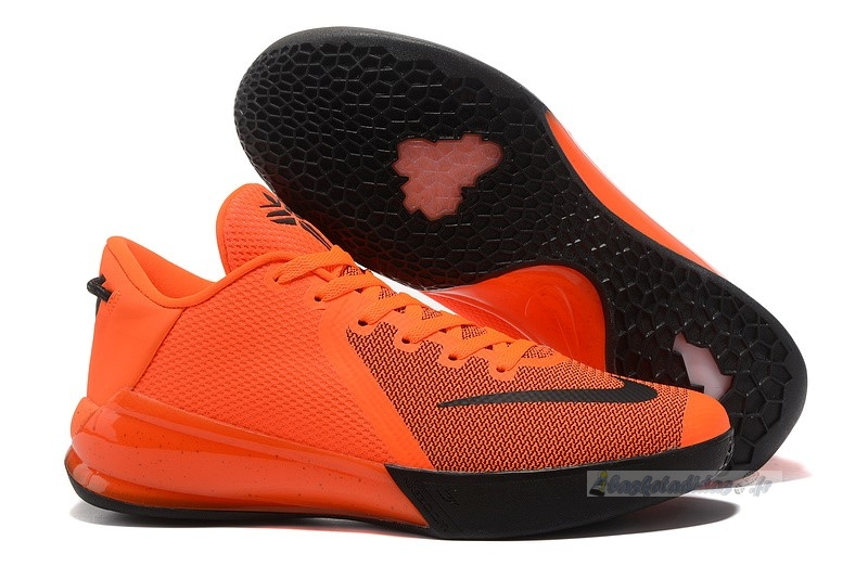 Chaussure de Basket Nike Kobe Venomenon 6 Orange Noir