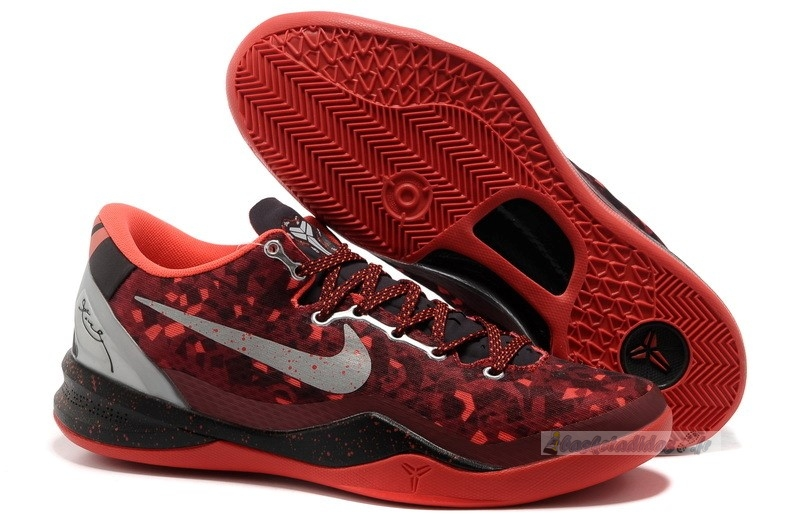 "Chaussure de Basket Nike Kobe Viii 8 ""Year Of The Snake"" Rouge"