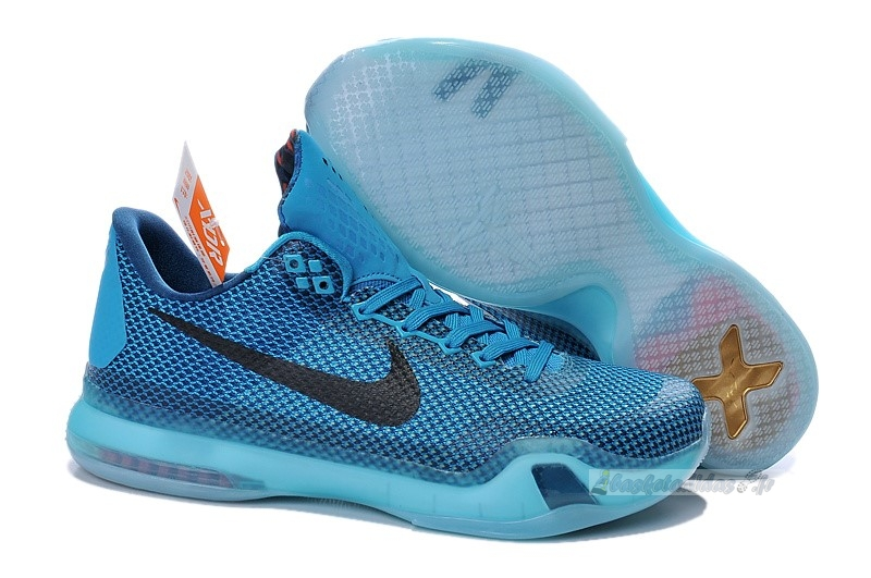 "Chaussure de Basket Nike Kobe X 10 ""5Am Flight"" Bleu"