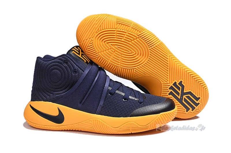 "Chaussure de Basket Nike Kyrie Irving Ii 2 Femme ""Cavs"" Marine Or"