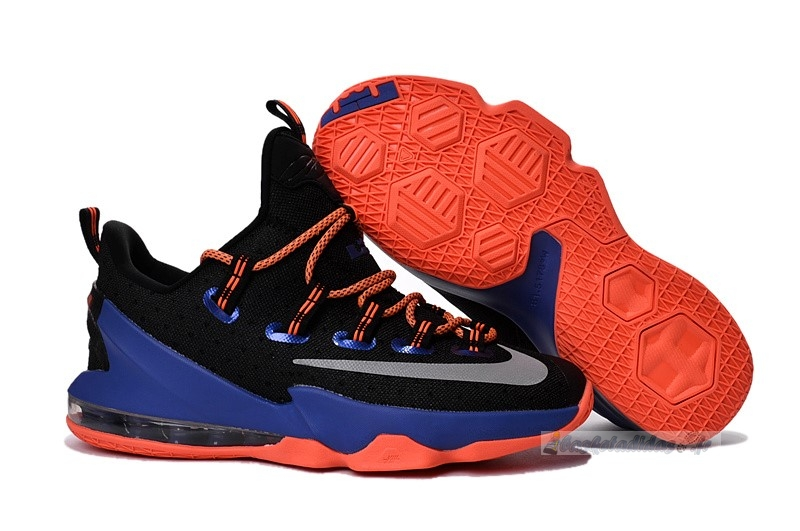 Chaussure de Basket Nike Lebron Xiii 13 Low Noir Orange