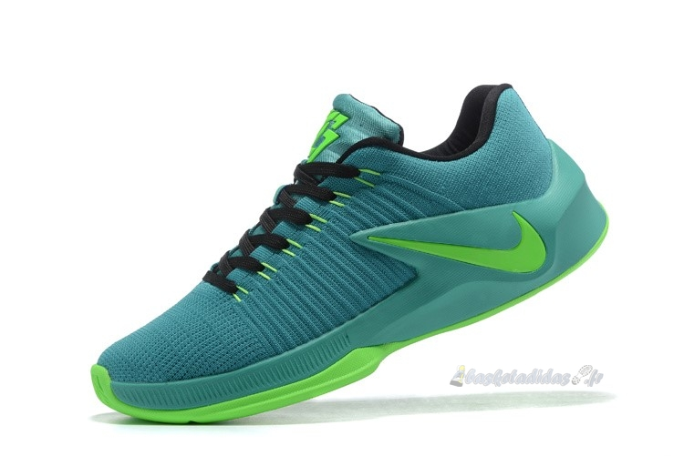 Chaussure de Basket Nike Zoom Clear Out Low Vert (844376-006)