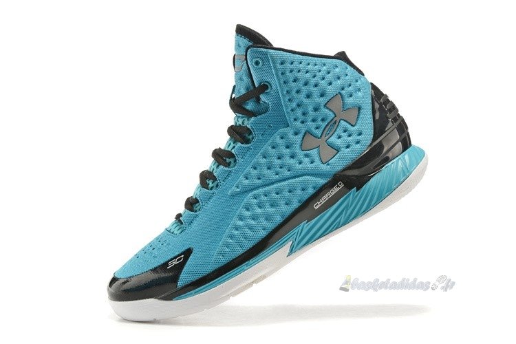 Chaussure de Basket Under Armour Curry 1 Bleu Noir