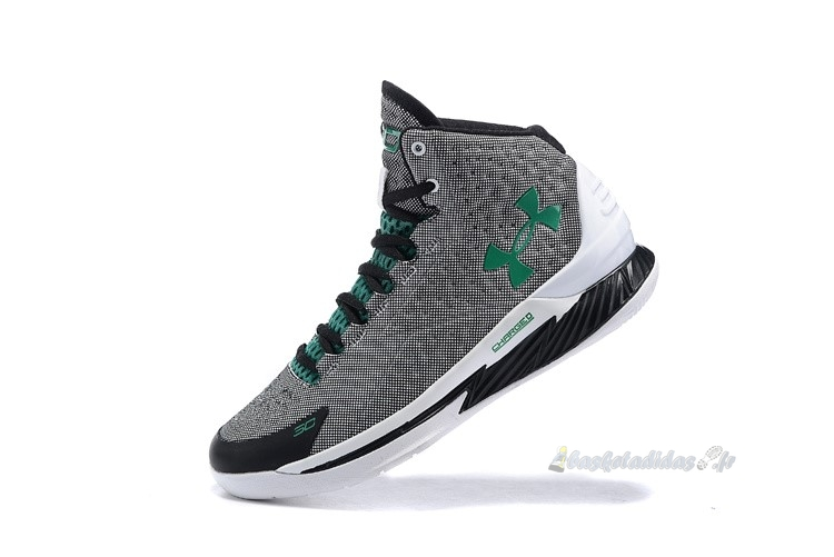 Chaussure de Basket Under Armour Curry 1 Gris Vert