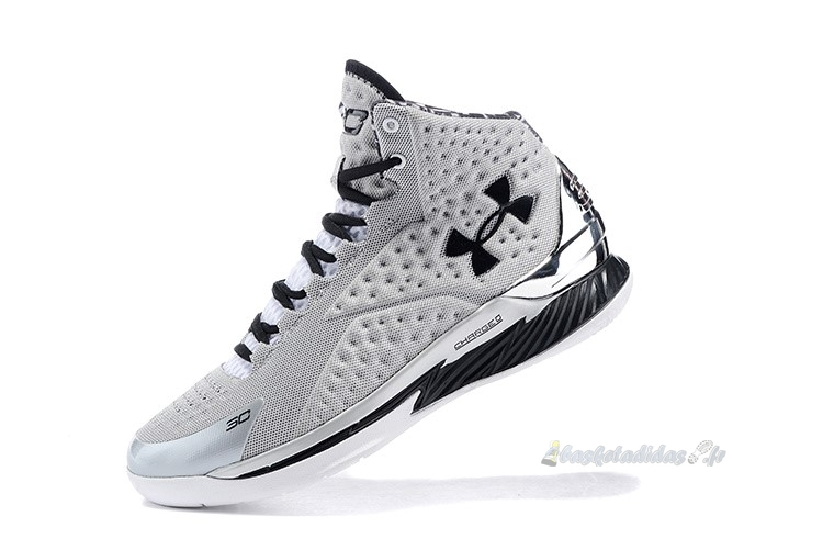 Chaussure de Basket Under Armour Curry 1 Gris