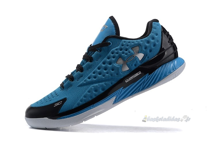 Chaussure de Basket Under Armour Curry 1 Low Bleu Noir