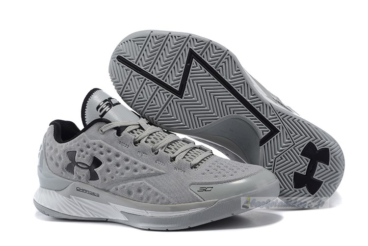Chaussure de Basket Under Armour Curry 1 Low Gris Noir