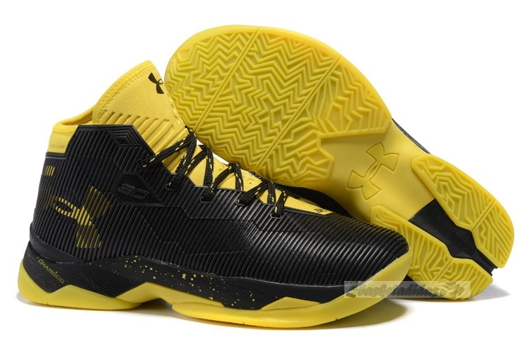 Chaussure de Basket Under Armour Curry 2.5 Noir Jaune