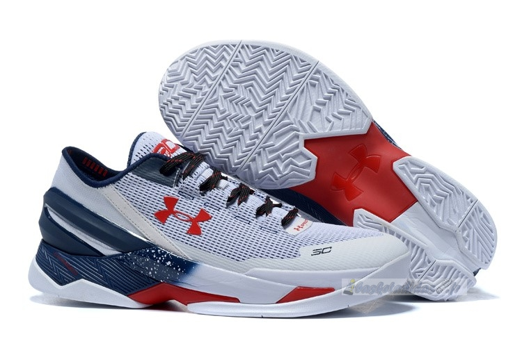 "Chaussure de Basket Under Armour Curry 2 Low ""Usa"" Gris"