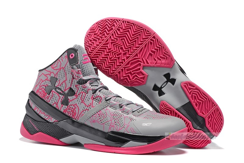 "Chaussure de Basket Under Armour Curry 2 ""Mothers Day"" Rose"