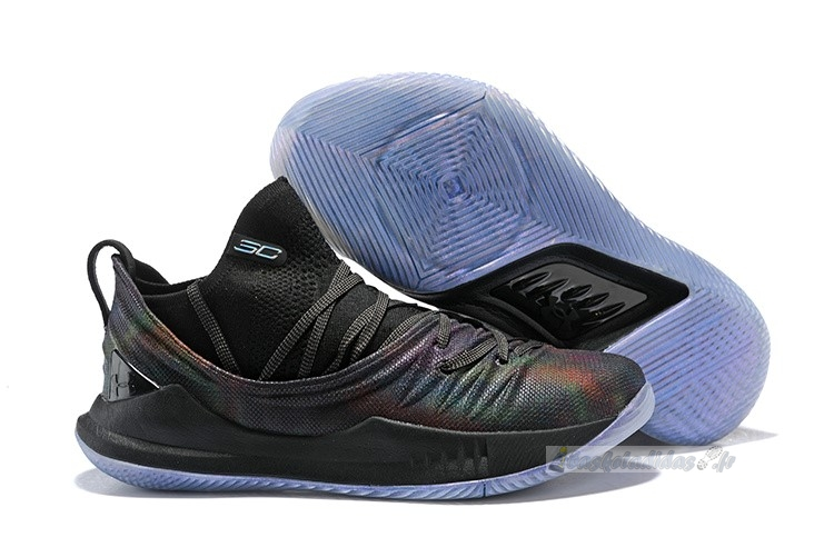 Chaussure de Basket Under Armour Curry 5 Low Noir