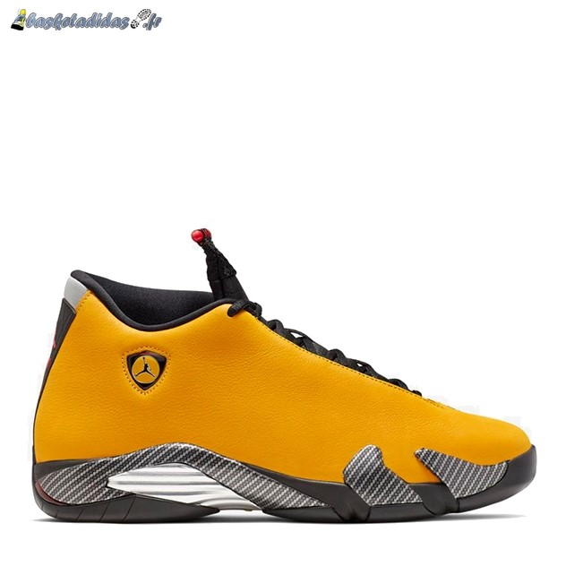 Chaussure de Basket Air Jordan 14 'Reverse Ferrari' Or (BQ3685-706)
