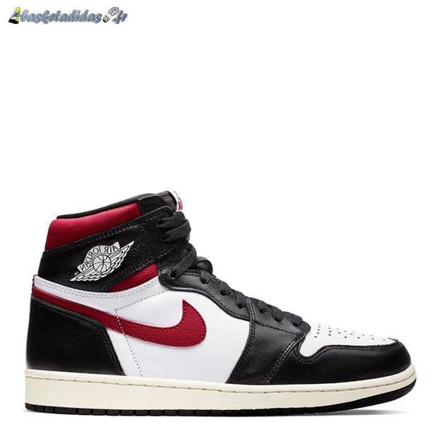 Chaussure de Basket Air Jordan 1 High Og 'Black Gym Red' Noir Rouge (555088-061)