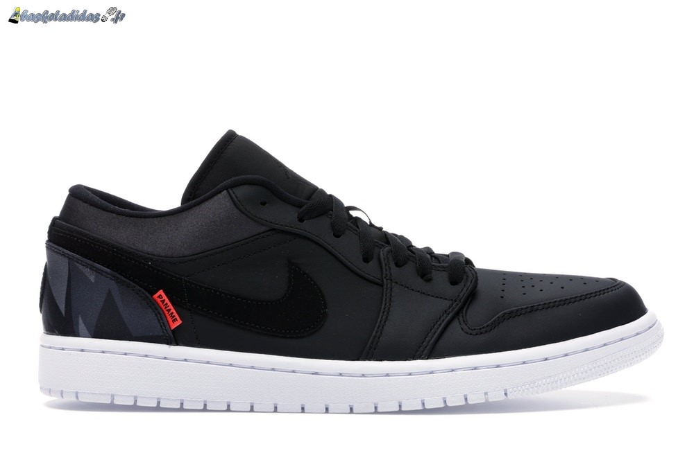 Chaussure de Basket Air Jordan 1 Low Psg 'Paris Saint Germain' Noir (CK0687-001)