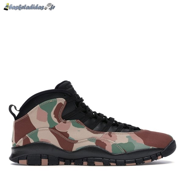 Chaussure de Basket Air Jordan 10 Retro 'Duck Camo' Camo (310805-200)