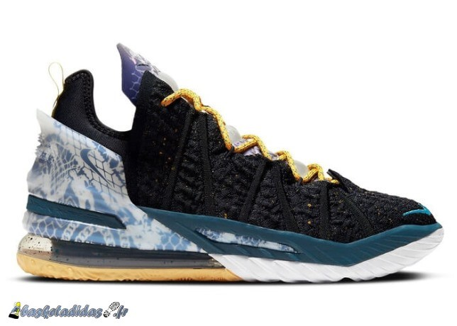 "Nike Lebron 18 ""Reflections"" Noir Sarcelle (DB8148-003/DB7644-003)"