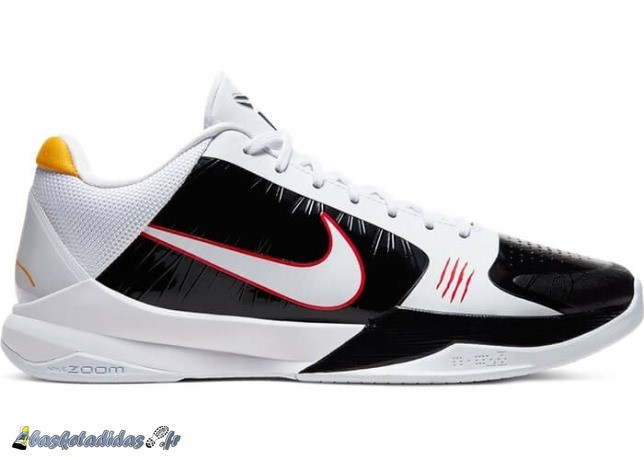 "Nike Kobe 5 Protro ""Bruce Lee Alternate"" Blanc Noir (CD4991-101)"