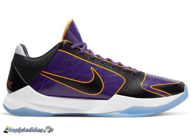 Nike Kobe 5 Protro Lakers Pourpre Noir (CD4991-500)