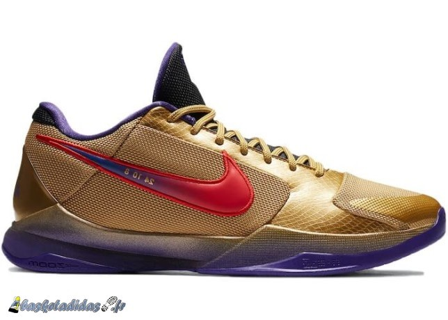 "Nike Kobe 5 Protro Undefeated ""Hall Of Fame"" Multi Couleur (DA6809-700)"