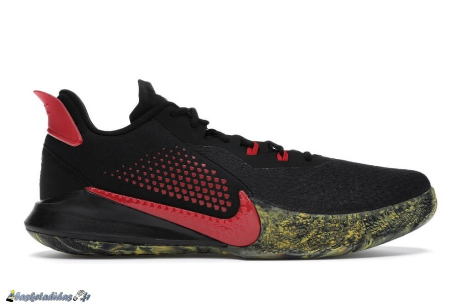 Nike Mamba Fury Alternate Bruce Lee Noir Rouge (CK2087-002)