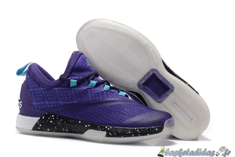 promo code 98fd5 08757 Chaussure de Basket Adidas Crazylight James Harden Homme Pourpre