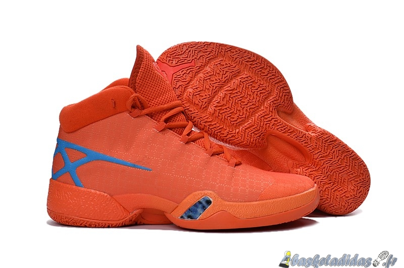 Chaussure de Basket Air Jordan 30 Homme Orange