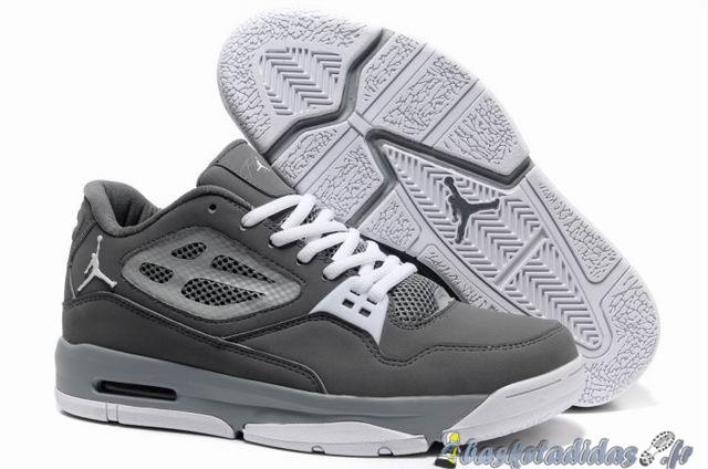 Chaussure de Basket Air Jordan Flight Homme Gris