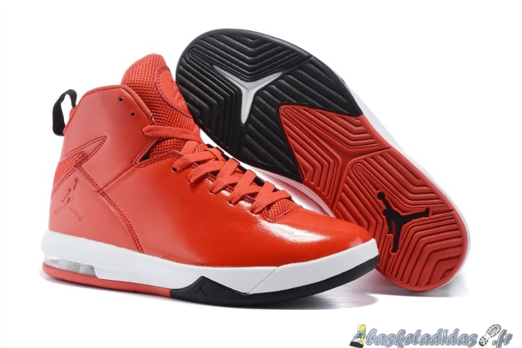 Chaussure de Basket Jordan Air Imminent Homme Rouge