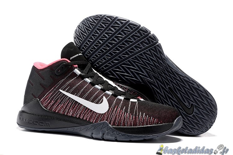 Chaussure de Basket Nike Zoom Ascention Carmelo Anthony Homme Noir Rouge Blanc