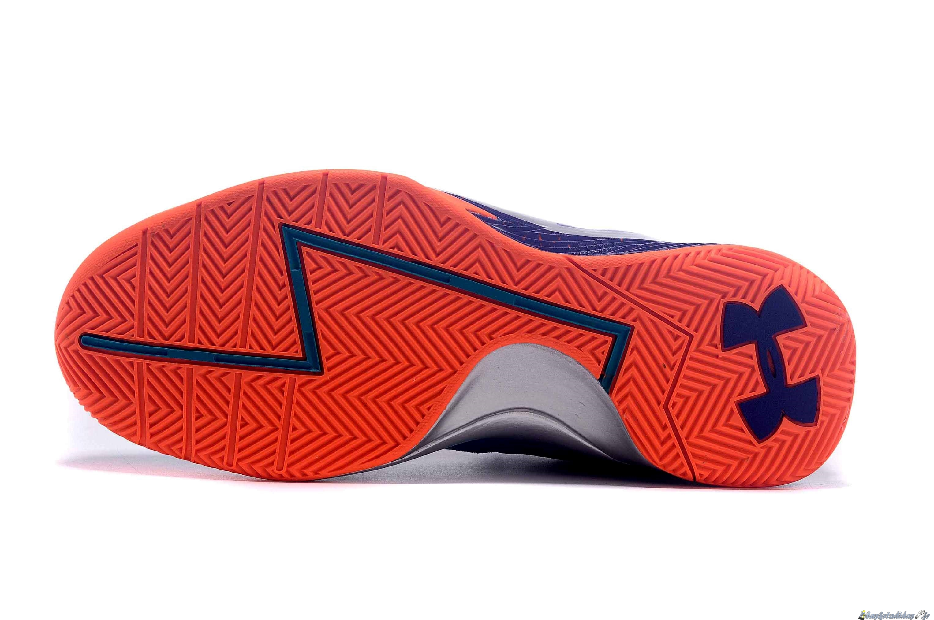 Chaussure de Basket Stephen Curry 1 Femme Bleu Orange